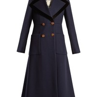 Double-breasted peak-lapel wool coat | Gucci | MATCHESFASHION.COM US