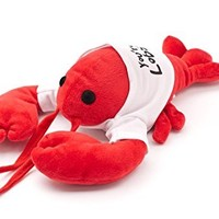 """You're My Lobster"" Plush (White T-Shirt) - Inspired by the Friends TV Show"