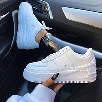 ❤shosouvenir❤Nike Air Force 1 Jester XX White Womens Leisure board shoes