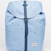Herschel Supply Co Post Backpack in Chambray Blue Spot