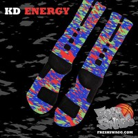 freshswagg — KD V Energy Nike Elite Socks