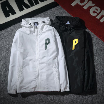 Hats Windbreaker Autumn Couple Double-layered Casual Jacket [8598681155]