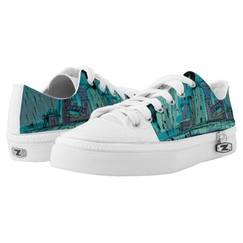 Autumn Rain (Dreamscapes) Low-Top Sneakers