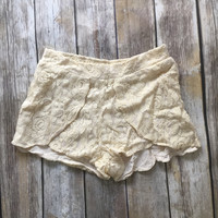 August Lace Shorts