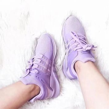 Adidas EQT Support ADV Purple Sneakers