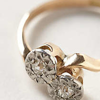 Vintage Entwined Diamond Lover's Ring