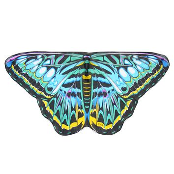 Childrens Butterfly Wings Kids Cape Dress Up Dance Costume Wings
