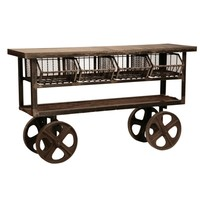 Cottage Chic | French | Country | Furniture | Unique | Finds | Industrial | Trolley