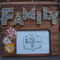 Family photo picture frame
