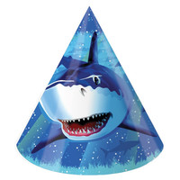 Shark Splash Child Size Party Hats/Case of 48