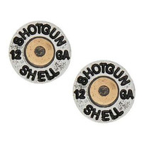 Shotgun Shell Earring Set