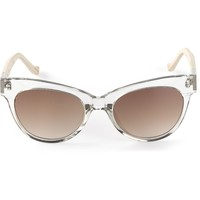 The Row For Linda Farrow Gallery Cat Eye Sunglasses - Edon Manor - Farfetch.com