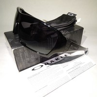 OAKLEY OFFSHOOT POLISHED BLACK /BLACK IRIDIUM LENS OO9190-03