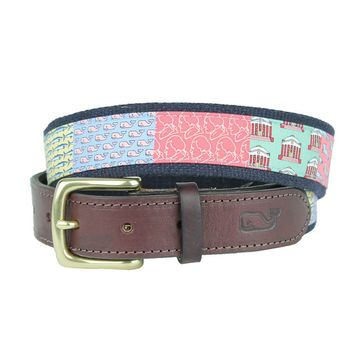 Custom Charlottesville Canvas Belt by Vineyard Vines