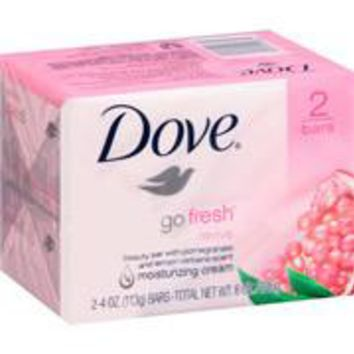 DOVE GO FRESH BEAUTY BAR W/ POMEGRANATE & LEMON VERBENA