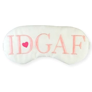 IDGAF SLEEP MASK