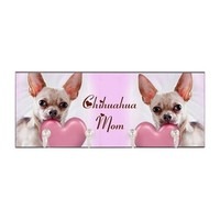 Chihuahua Mom dog Key Hanger