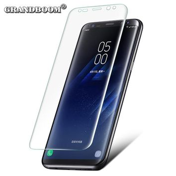 3D HD Curved Screen Protector Full Cover Soft PET Edge For Samsung S8 Plus S7 Edge S6 Coverage Flim Guard Protective (Not Glass)