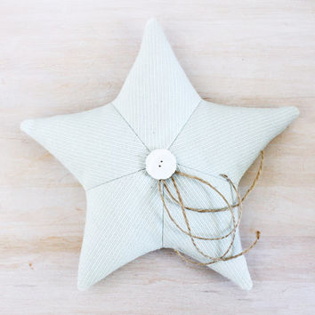 Star Lavender Sachet, Aqua Starfish, Beach Cottage Decor