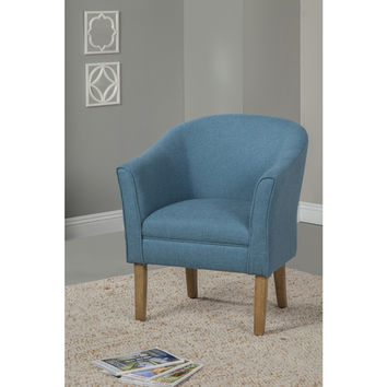 HomePop Teal Chunky Textured Accent Chair | Overstock.com Shopping - The Best Deals on Living Room Chairs