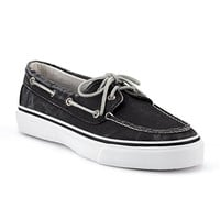 Sperry Topsiders - Bahama 2-Eye Boat Shoe Black at Mar-Lou Shoes
