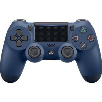 Sony PlayStation DualShock 4 PS4 Wireless Controller (2nd Generation) - Exclusive Midnight Blue Edition