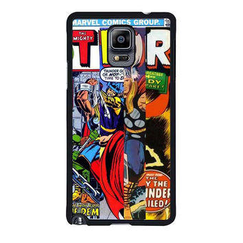 thor marvells comic cover samsung galaxy note 4 note 3 cover cases