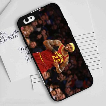 Lebron James (happy) iPhone Case