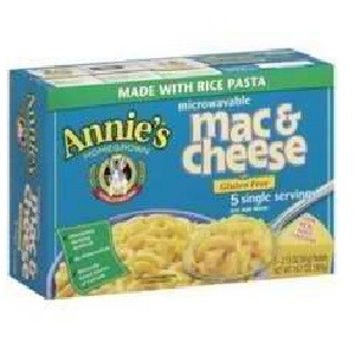 Annie`s Homegrown Rice Pasta and Wisconsin Cheddar Mac and Cheese -6x10.7 Oz-