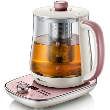 1.8L Electric Kettle Flower Teapot Hot Tea Makers Timing High Quality Electric Kettle Reservation Heat Preservation