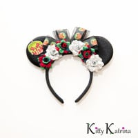 Poison Apple Disney Ears Headband, Mouse Ears, Evil Queen Disney Ears, Snow White Disney Ears, Disney Bound, Disneyland, Disney World