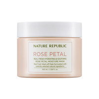 [NATURE REPUBLIC] Real Fresh Hydrating & Soothing Rose Petal Moisture Mask