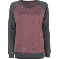 FULL TILT Essential Womens Burnout Sweatshirt 206204320 | Sweatshirts & Hoodies | Tillys.com