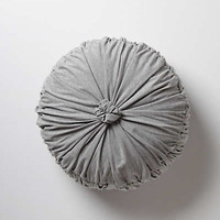 Anthropologie - Rosette Round Pillow