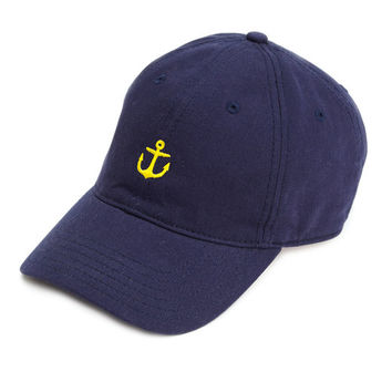 Shop Embroidered Anchor Baseball Hat at vineyard vines