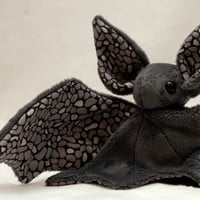 Stone Bat Plush Toy - Made to Order