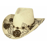"Bullhide Hats ""Kiss from a Rose"" Panama Straw Cowboy Hat"