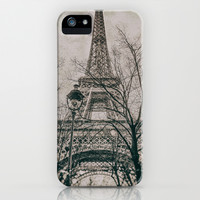 EIFFEL TOWER (Old plate camera) iPhone & iPod Case by JAY'S PICTURES