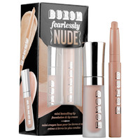 Sephora: Buxom : Fearlessly Nude Lip Foundation & Lip Cream Duo : lip-palettes-gloss-sets