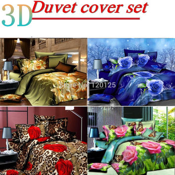 Luxury bedding set bed sheet sets duvet cover set  comforter cover QUILT COVER SET double/queen/