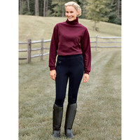 Tuff Rider™ Winter Knee Patch Riding Breeches | Dover Saddlery