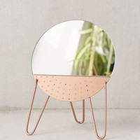 Kamilah Mirror Earring Organizer | Urban Outfitters