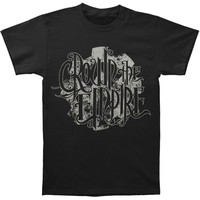 Crown The Empire Men's  Cog T-shirt Black Rockabilia