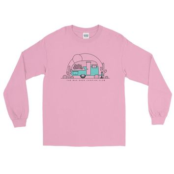 The Bad Dads Camping Club LS T Shirt