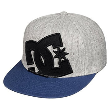 DC Shoes Boy's 2-7 Ya Heard 2 Hat Grey One Size