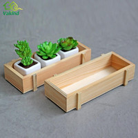 Vintage Wood Garden Flower Planter Crate Succulent Rectangle Plant