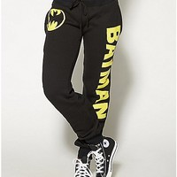 Batman Black Jogger - Spencer's