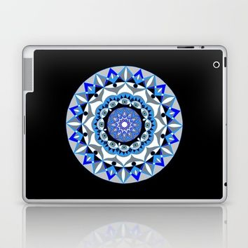 My Peace Mandhala | Secret Geometry | Energy Symbols Laptop & iPad Skin by Azima