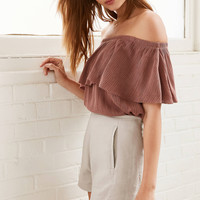 Cooperative Gramercy Linen Pinup Short | Urban Outfitters