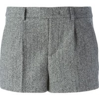 Red Valentino Herringbone Shorts - Leam - Farfetch.com